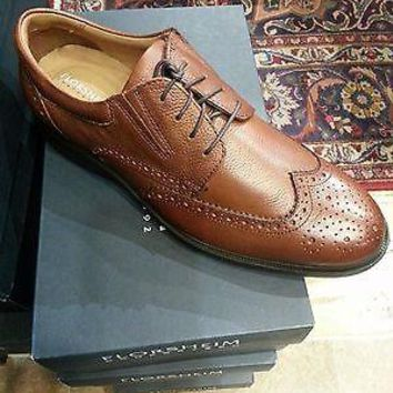 NEW FLORSHEIM VANTAGE WING OX COGNAC SHOES