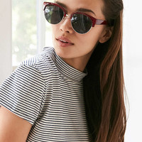 Kathleen Half-Frame Sunglasses - Urban Outfitters