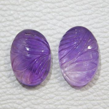 21x14x7 20x14x6 MM Approx Beautiful Designing Natural Amethyst Cabochon 30.00 Cts Square Shape Loose Amethyst Gemstone Amethyst Wire Wrapped