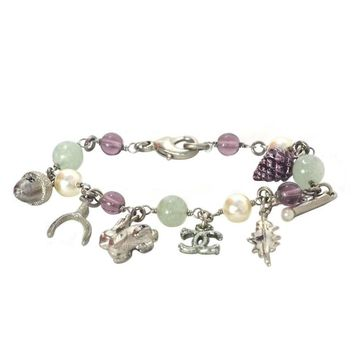 Chanel Multicolored Bracelet with Autumn Charms