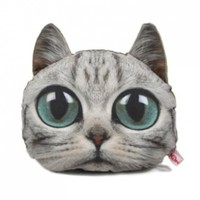 ZLYC Kooky Cat Car Neck Pillow (light gray):Amazon:Baby