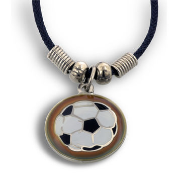 I Can Do Soccer Mood Necklace