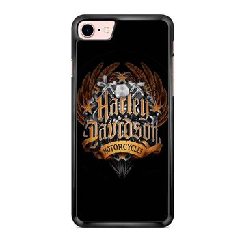 Harley Davidson Logo 2 iPhone 7 Case