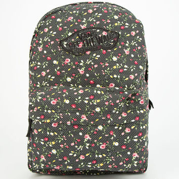 Vans Realm Backpack Black Combo One Size For Women 24812914901