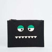ASOS Halloween Monster Face Clutch Bag