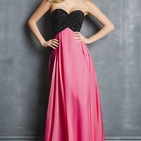 Sweetheart Chiffon Gown by NightMoves by Allure