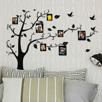 photo frame family tree wall stickers 2141. kids wall arts home decorations living room decals poster diy adesivos de paredes