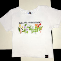 SWEET LORD O'MIGHTY! WHY YOU BULLSHITTIN CROP TEE