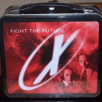X-Files Metal Lunchbox From 1998 Movie