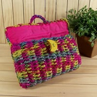 CROCHET BAG PATTERN Clutch Bag Pouch Bag Crochet Purse Bag pdf pattern