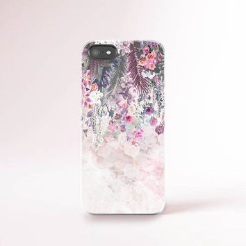 iPhone 6 Case Floral iPhone 6 Plus Case Floral iPhone Cases Fashion Accessories Summer iPhone Case Pink Ombre iPhone Case Floral Pattern