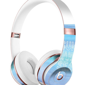 Sun Sand Sea Full-Body Skin Kit for the Beats by Dre Solo 3 Wireless Headphones