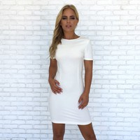 Queen Of Hearts Dress In White