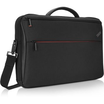 """Lenovo PROFESSIONAL Carrying Case for 15.6"""" Notebook - Black"""