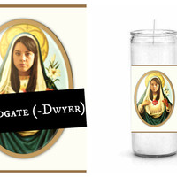 April Ludgate Prayer Candle - Parks and Recreation - St. April Ludgate (-Dwyer)