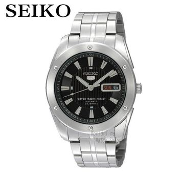 SEIKO Watch Shield No.5 Business Leisure Week Calendar Steel Band Machinery Men 'S Watch SNZF35J1 SKZ309J1