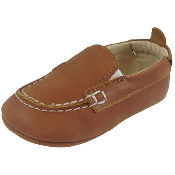 Old Soles Boy's Tan Boat Shoes