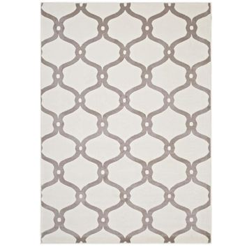 Beltara Chain Link Transitional Trellis 5x8 Area Rug - R-1129C-58