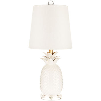White Ceramic Pineapple Lamp | Hobby Lobby | 946475