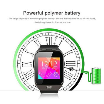 Free DHL GV09 Perfect Watches GV09S Smart Watch Support Android IOS Bluetooth Watches Phone SIM Support Camera TF