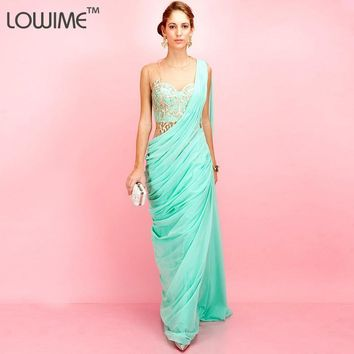 2015 Elegance Forever Unique Aqua Dress For Party Social Vestido
