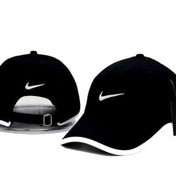 200bb7f3ac5 Cool NIKE GOLF NEW Adjustable Fit DRI FIT SWOOSH FRONT BASEBALL