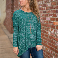 Treasure Hunt Top, Forest Green