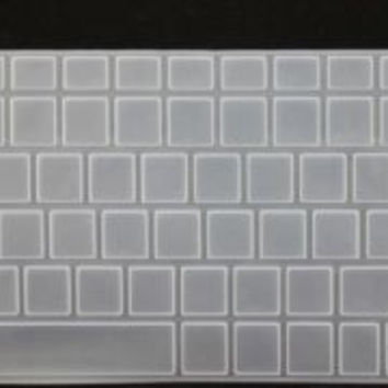 Clear  Keyboard Skin Protector Cover Film FOR HP Pavilion New DV6 New G6 numeric pad HP_ 028_Clear