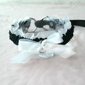 Maid Kitty Choker -  Kitten collar