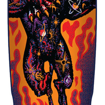 9.42in x 31.88in Asta Comic Preissue Santa Cruz Skateboard Deck