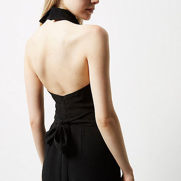 Black high neck jumpsuit - jumpsuits - rompers / jumpsuits - women
