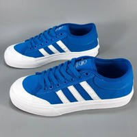 ADIDAS MATCH COURT JACK PURCELL WOMEN MEN FASHION SHOES BLUE B-CSXY