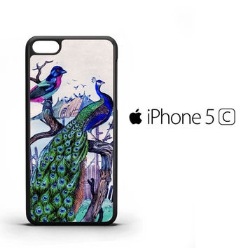 Vintage Classic Peacock Y0094 iPhone 5C Case