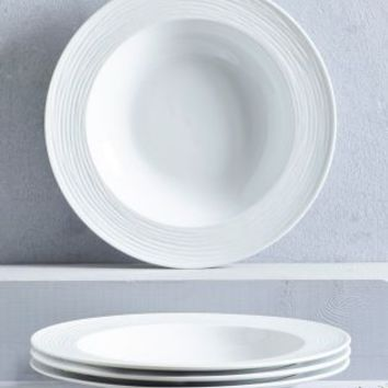 Buy Set Of 4 Collection Luxe Casual Pasta Bowls from Next Germany