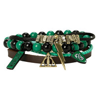 Harry Potter Slytherin Bracelet 4 Pack