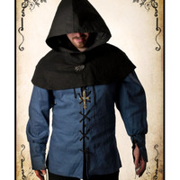 Thief Hood clothing LARP role playing game costume and cosplay