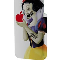 Best 3D Full Wrap Phone Case - Hard (PC) Cover with Zombie Snow White Apple Design