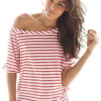 Shop Womens Off Shoulder Tee Tops From Alloy