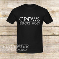 game of thrones season 5 trailer decal crows before hoes on T shirt