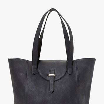 Eva Structured Shopper Day Bag | Boohoo
