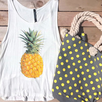 Summer Tote + Tank Set