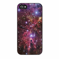 space hubble red purple cone nebula cases for iphone se 5 5s 5c 4 4s 6 6s plus