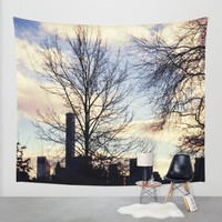 Central Park Wall Tapestry by Haroulita | Society6