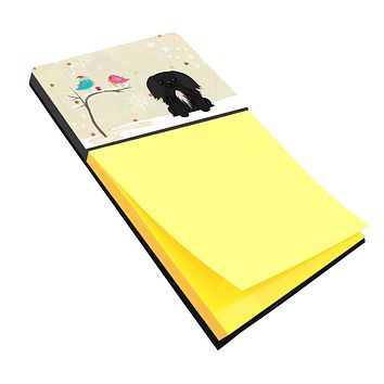 Christmas Presents between Friends Pekingnese Black Sticky Note Holder BB2579SN