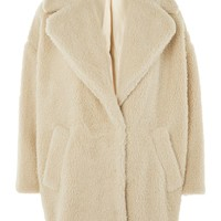 Borg Cocoon Coat - New In Fashion - New In