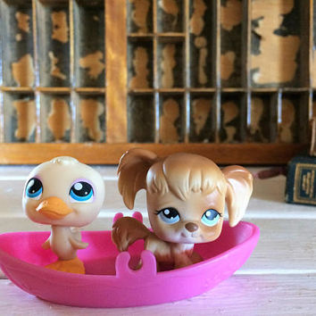 Littlest Pet Spaniel, Littlest Pet, Littlest Pet Pairs, LPS On the Go, LPS, Littlest Pet Shop, Lps Cocker Spaniel, Collectible Lps, Pet Shop