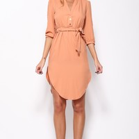 All About Eve Maxi Dress Orange