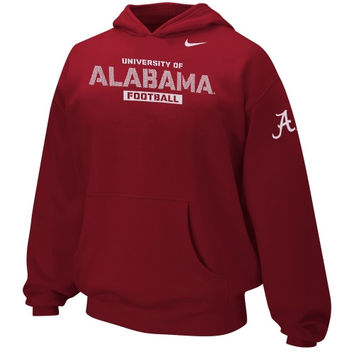 Nike Alabama Crimson Tide Youth Practice Hoodie - Red - http://www.shareasale.com/m-pr.cfm?merchantID=7124&userID=1042934&productID=520905008 / Alabama Crimson Tide