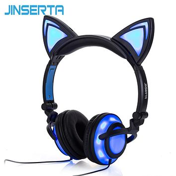JINSERTA LED Cat Headphones