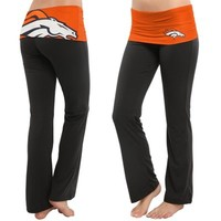 Denver Broncos Ladies Sublime Knit Pants – Navy Blue